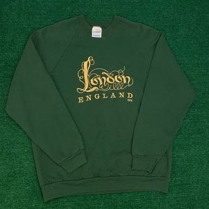 RARE Vtg 90s London made in Ireland sweatshirt